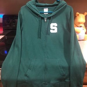Women's New Green Hoodie Size Small